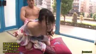 浴衣姿の激カワGALをMM号に招待してハメ撮りのSEX動画