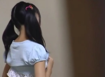 素人かわいいツインテJC妹が部屋でオナニーしてたから隠し撮り家庭内盗撮エロ動画