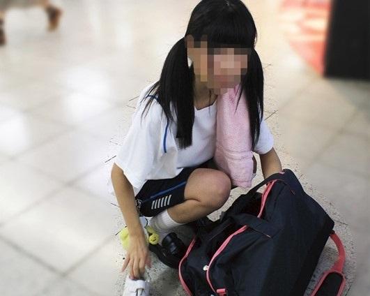 家出中の中学生☆女子が変態ロ●コン親父に犯されるレイプ動画