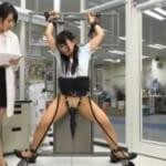 【拘束電マ責め】女子社員の身体を固定しクリトリスに電マの刺激を与え続けたらどうなっちゃうのかを実験w