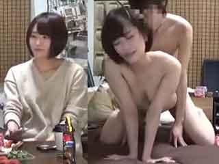 可愛い女友達JDちゃん今日は家に招いてSEXした盗撮エロ動画|しろスポ|エッチな素人動画