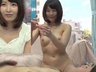 仮性包茎の童貞君を優しく筆卸しセックスした女神な人妻エロ動画