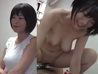 激カワ純情娘さん実はヤリマンでセックス大好き淫乱女だった動画